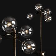 Lámpara de pie Gallotti & Radice Bolle modelo 3d
