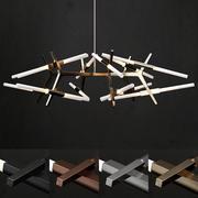 Lampa 24 lampor 3d model