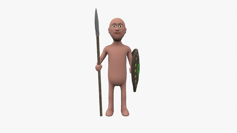 Some dude royalty-free 3d model - Preview no. 2