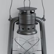 Масляный фонарь 3d model