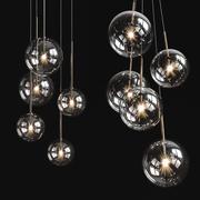 Araña de luces Gallotti y Radice Bolle Solo modelo 3d