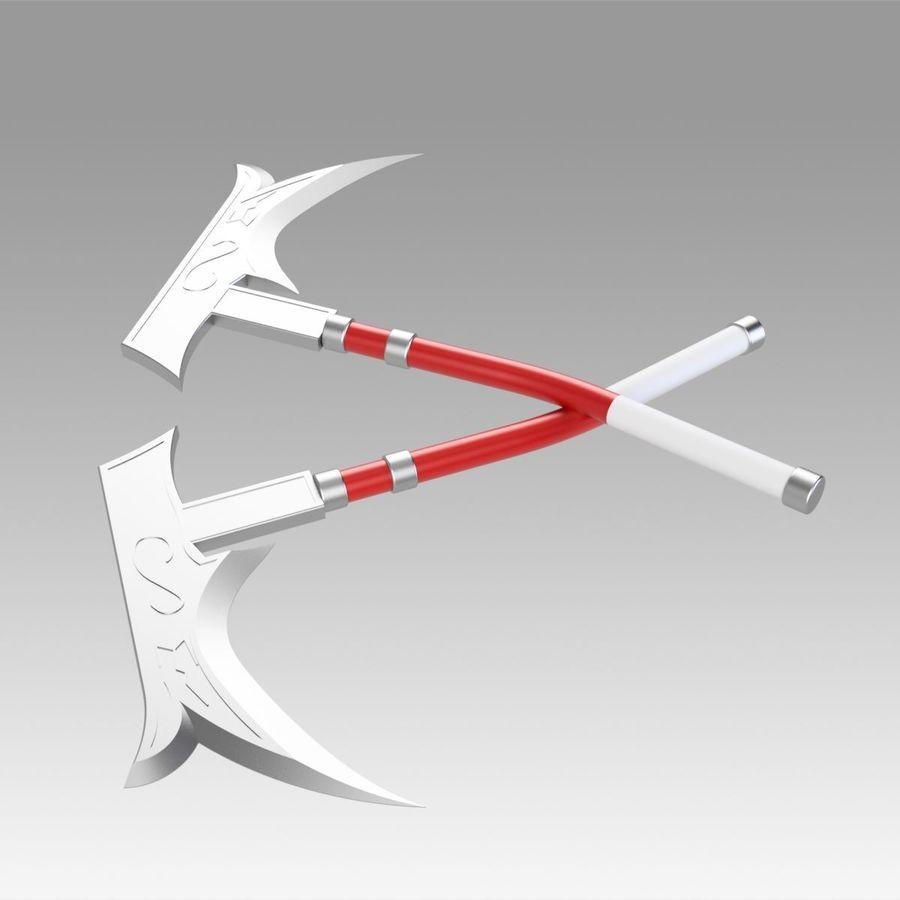 リーグ・オブ・レジェンドナースアカリコスプレ武器小道具 royalty-free 3d model - Preview no. 8