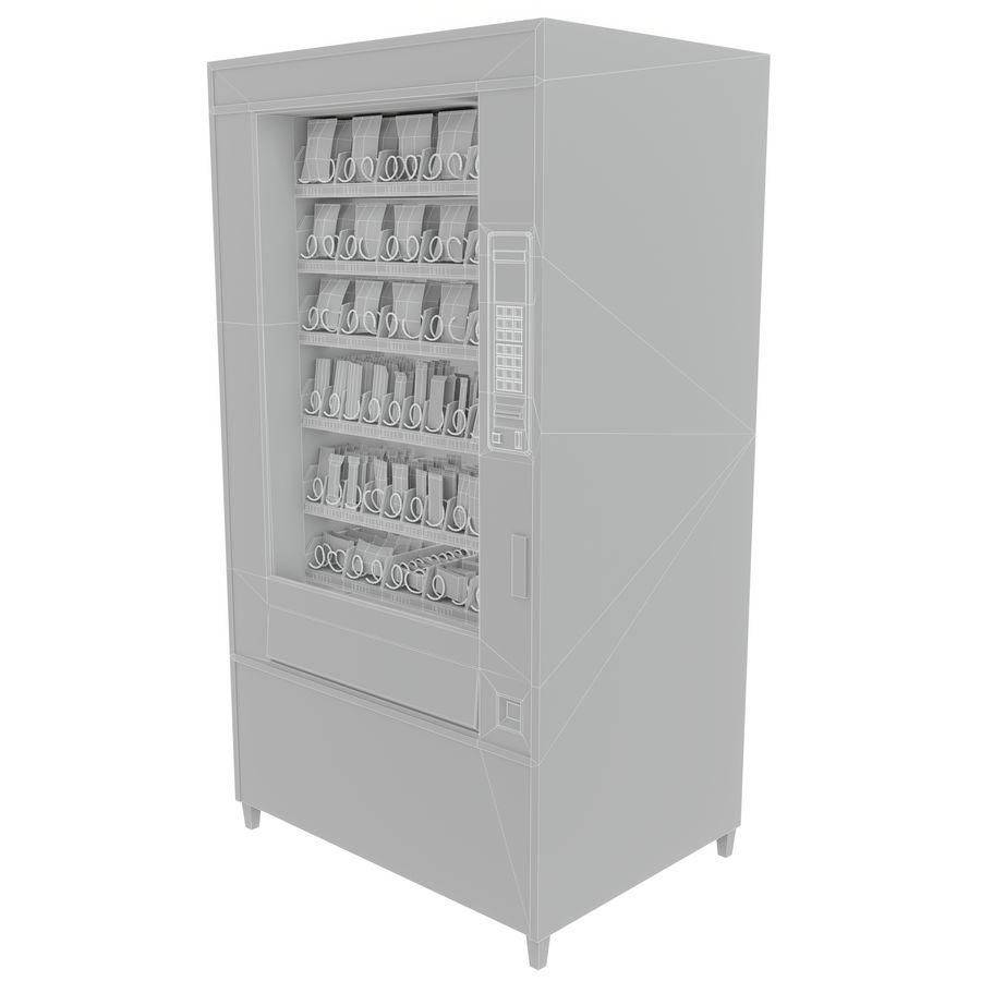 Varuautomat med mellanmål / godis royalty-free 3d model - Preview no. 11