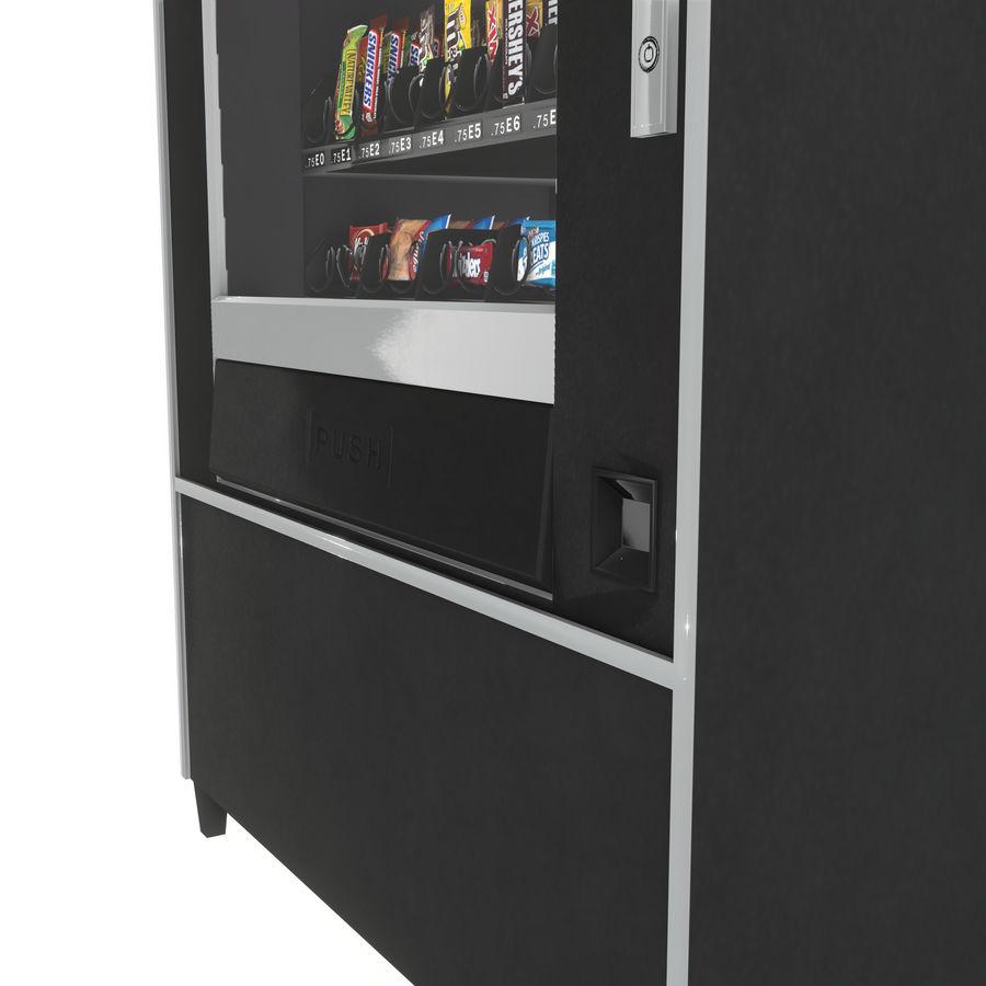 Varuautomat med mellanmål / godis royalty-free 3d model - Preview no. 6