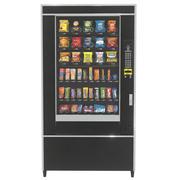 スナック・キャンディー付き自動販売機 3d model