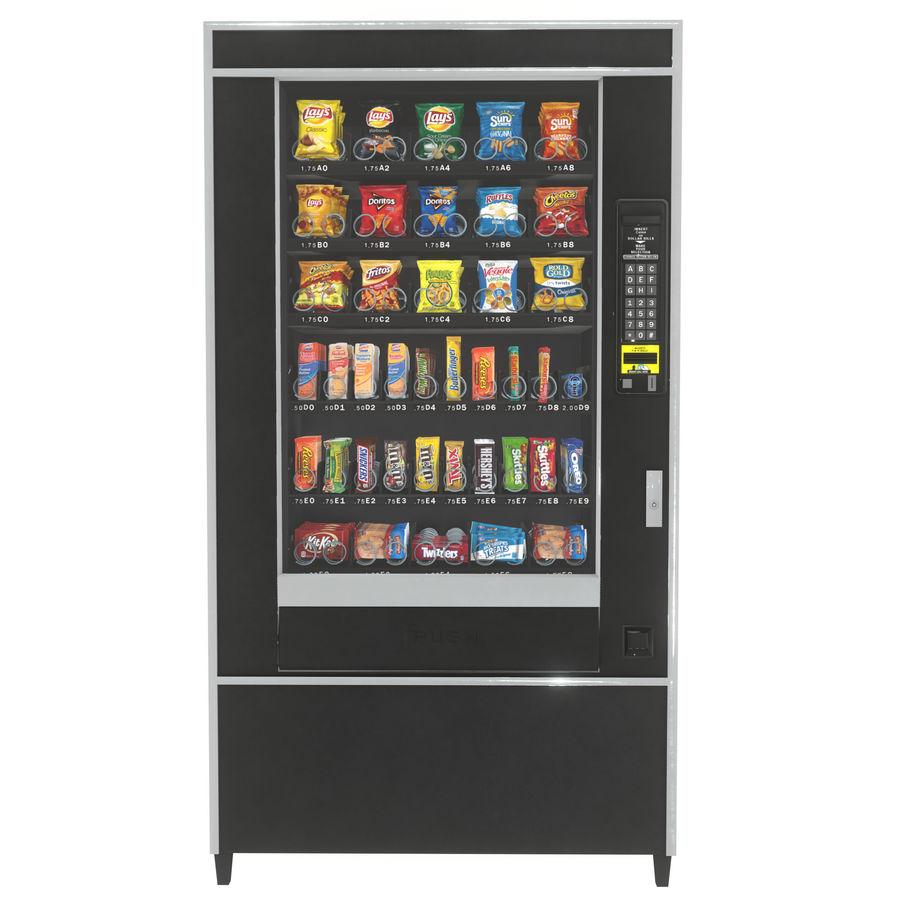 Varuautomat med mellanmål / godis royalty-free 3d model - Preview no. 1