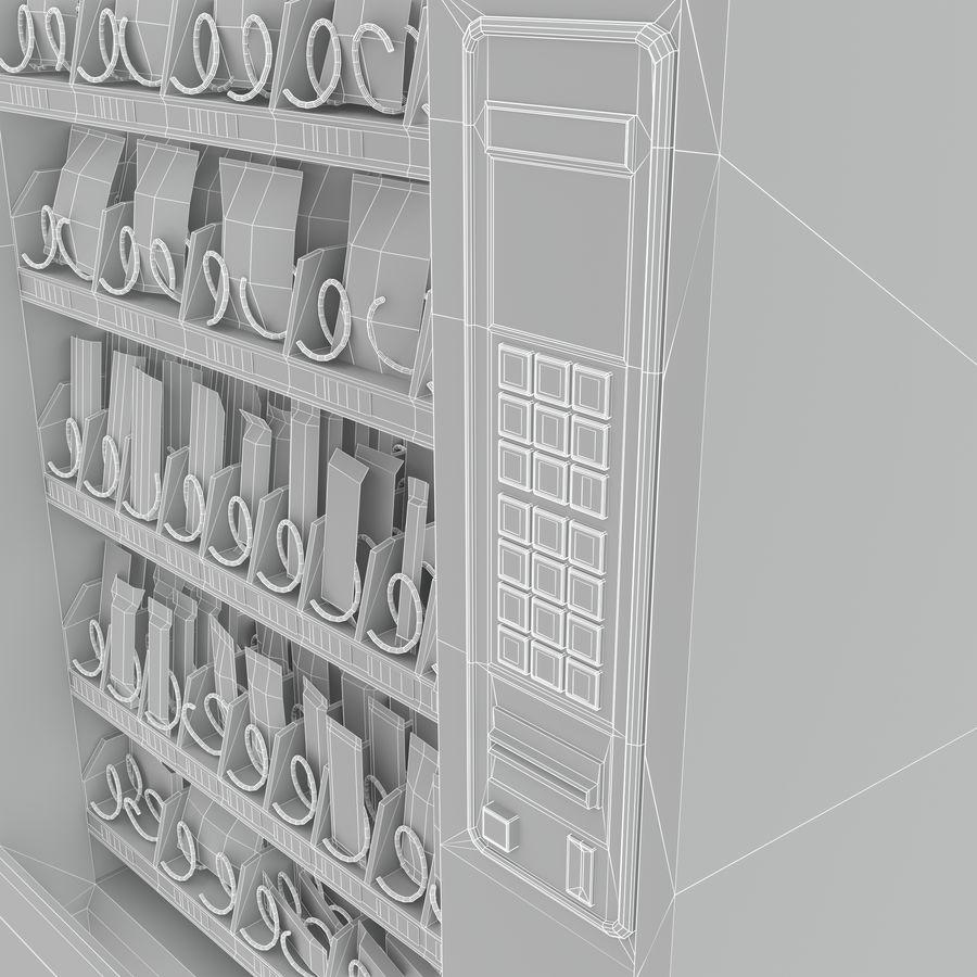 Varuautomat med mellanmål / godis royalty-free 3d model - Preview no. 12
