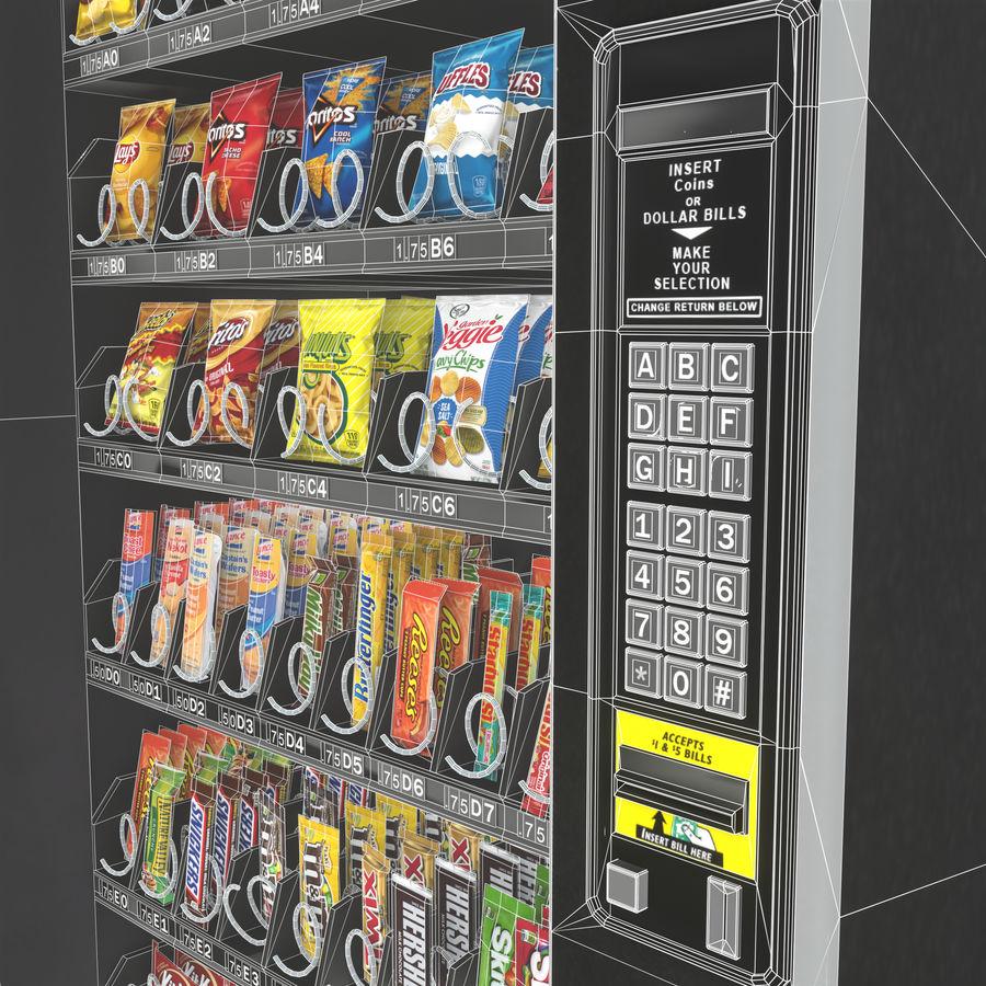 Varuautomat med mellanmål / godis royalty-free 3d model - Preview no. 5