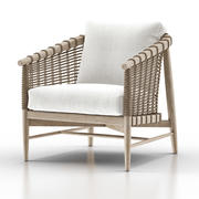 Melrose Lounge Chair 3d model