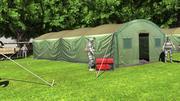 Tente militaire 3d model
