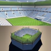 スタジアム 3d model
