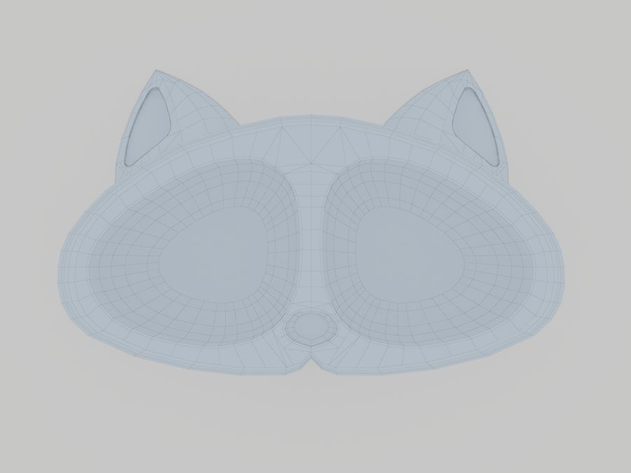 Ciotola per animali domestici royalty-free 3d model - Preview no. 10