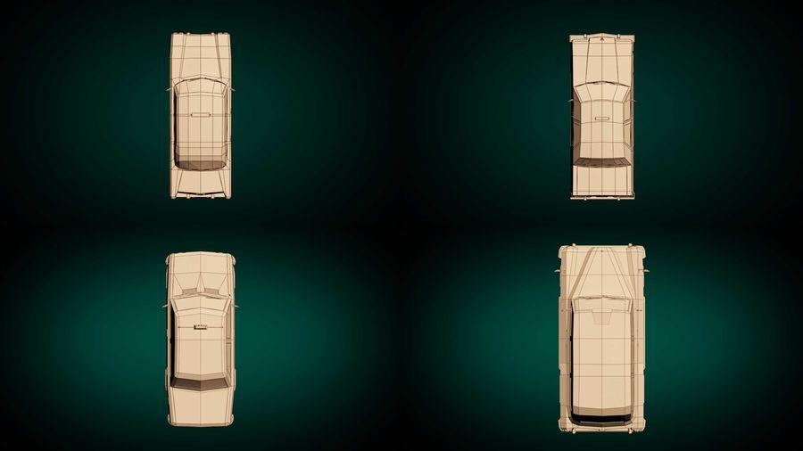 低ポリタクシーパック royalty-free 3d model - Preview no. 13
