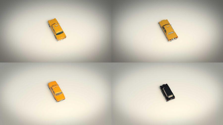 低ポリタクシーパック royalty-free 3d model - Preview no. 5