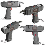 pistola armatura 3d model