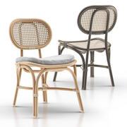 Marte Bistro Chair 3d model