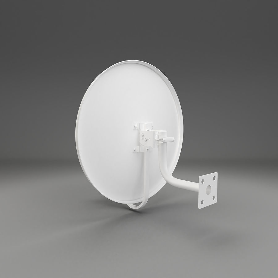 Antena satelitarna royalty-free 3d model - Preview no. 7