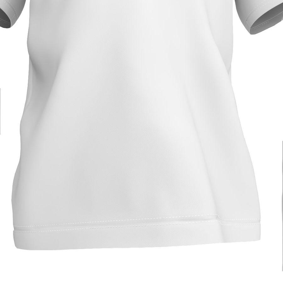 T恤 royalty-free 3d model - Preview no. 7