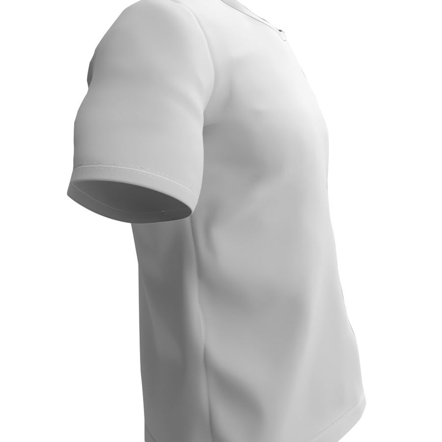 T恤 royalty-free 3d model - Preview no. 4