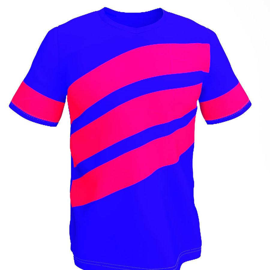 T恤 royalty-free 3d model - Preview no. 9
