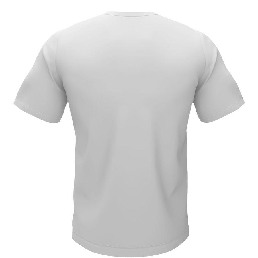 T恤 royalty-free 3d model - Preview no. 3