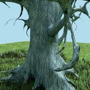 dried tree 3d model