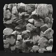 Slab stenen rots graniet enorme n3 3d model