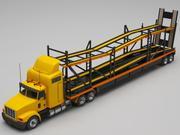 car transporter truck 3d model