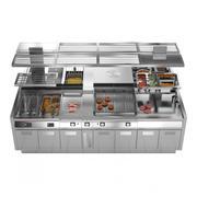 Modułowa kuchnia Angelo Po ICON9000 3d model