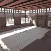 Habitación Dojo (Interior) modelo 3d