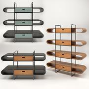 Книжный шкаф Midj Apelle 3d model