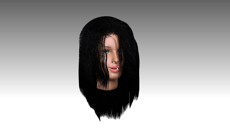 Isabella Smith head royalty-free 3d model - Preview no. 33