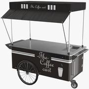 Chariot à café 3d model