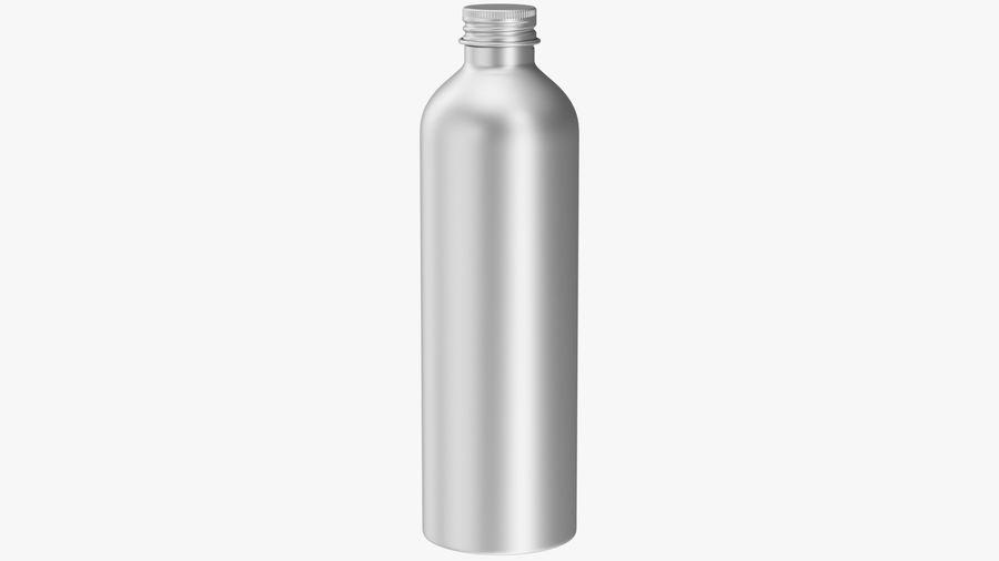 250ml Aluminium Bottle royalty-free 3d model - Preview no. 2