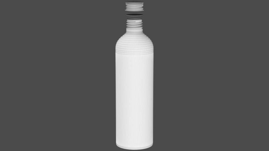 250ml Aluminium Bottle royalty-free 3d model - Preview no. 7