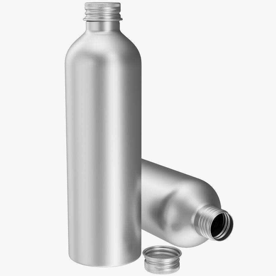 250ml Aluminium Bottle royalty-free 3d model - Preview no. 1