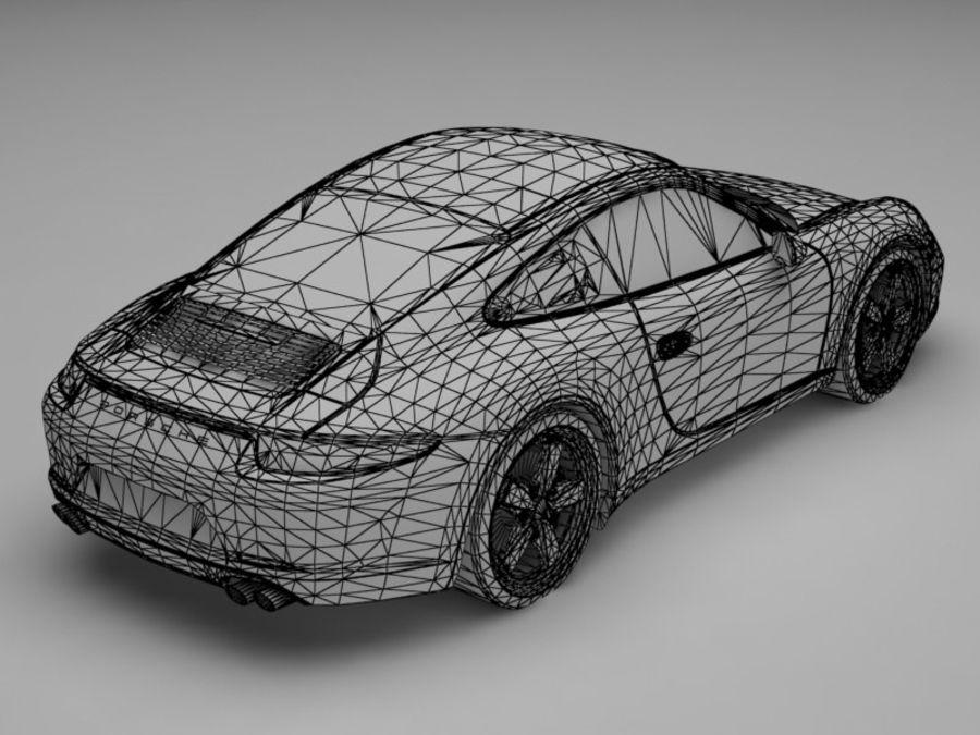 porsche 911 royalty-free 3d model - Preview no. 12