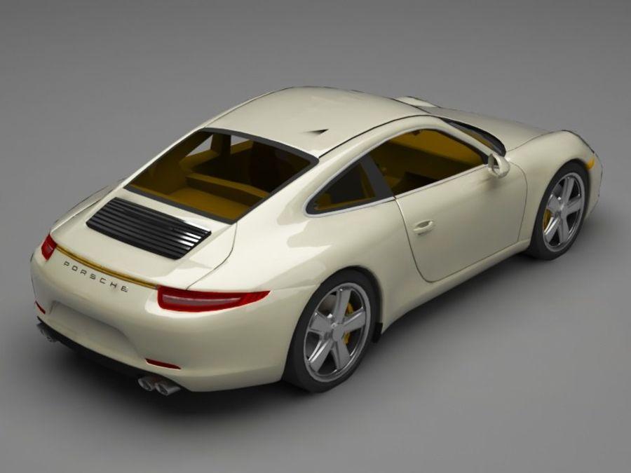 porsche 911 royalty-free 3d model - Preview no. 6