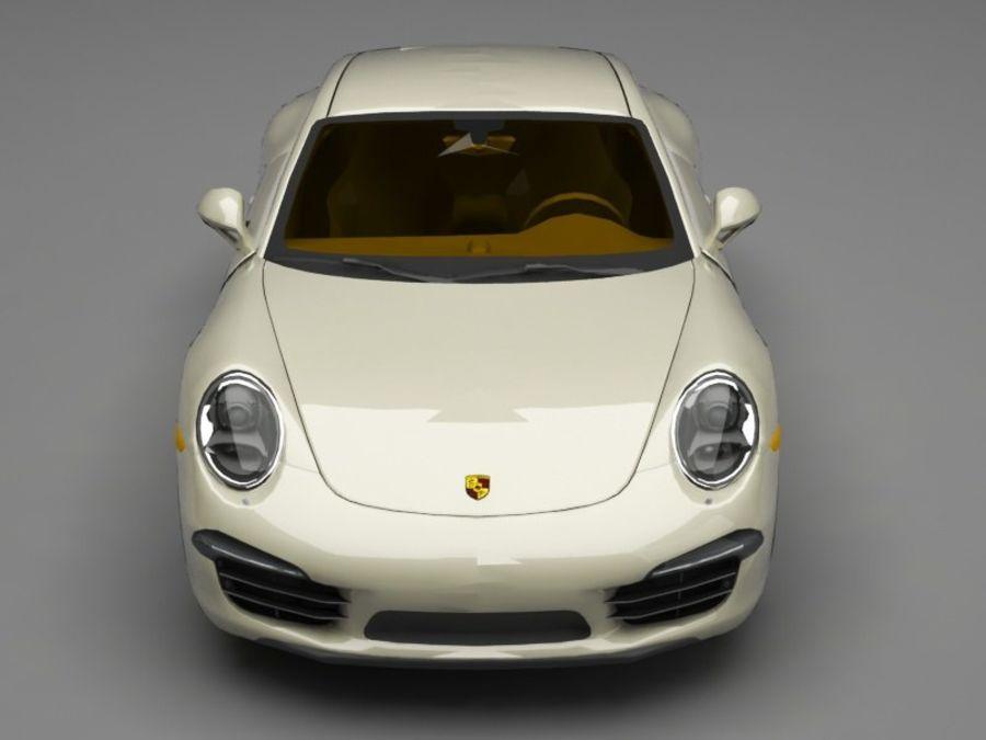 porsche 911 royalty-free 3d model - Preview no. 9