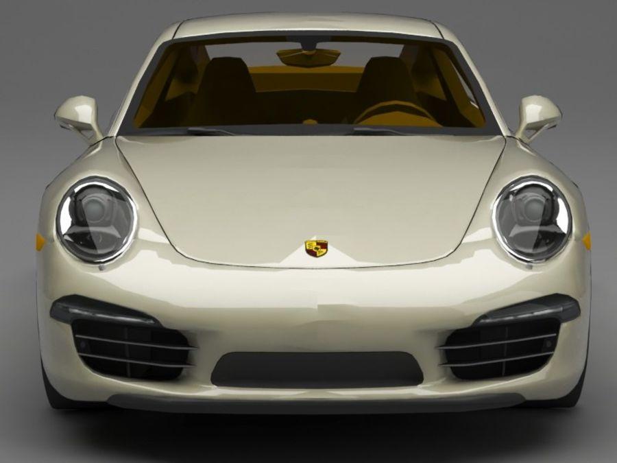 porsche 911 royalty-free 3d model - Preview no. 10