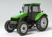 Generic Farmers Tractor HQ jordbruksmaskin 3d model