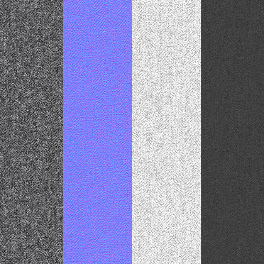 Bed Base 03 Grey royalty-free 3d model - Preview no. 20