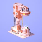 Sci Fi Chamber Cryo #1 3d model
