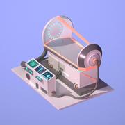 Sci Fi Chamber Cryo #3(1) 3d model