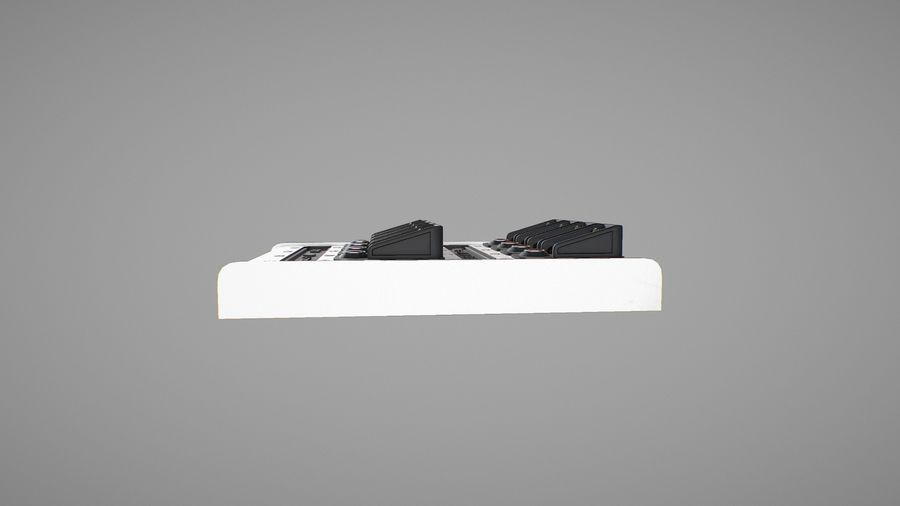 Panel sterowania D royalty-free 3d model - Preview no. 9