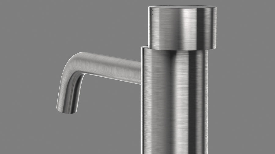 Boffi PH Stone Sink e Boffi Eclipse High Faucet royalty-free 3d model - Preview no. 22