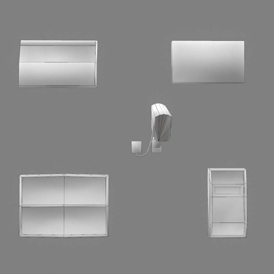 Dashboard royalty-free 3d model - Preview no. 5