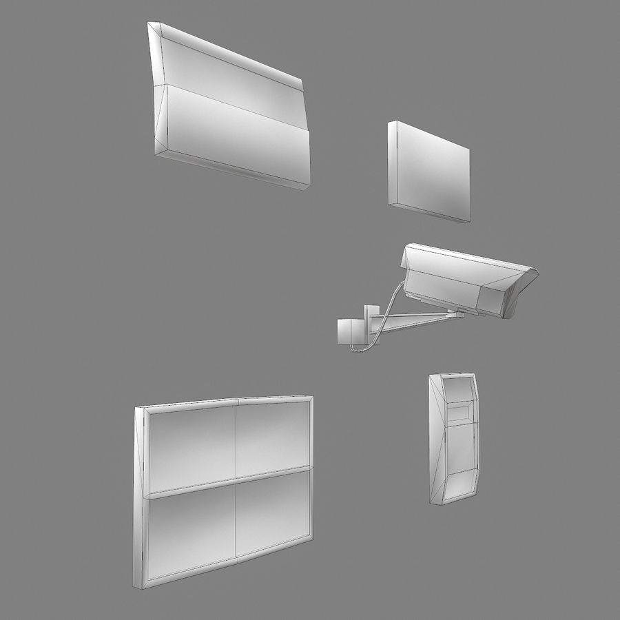 Dashboard royalty-free 3d model - Preview no. 6