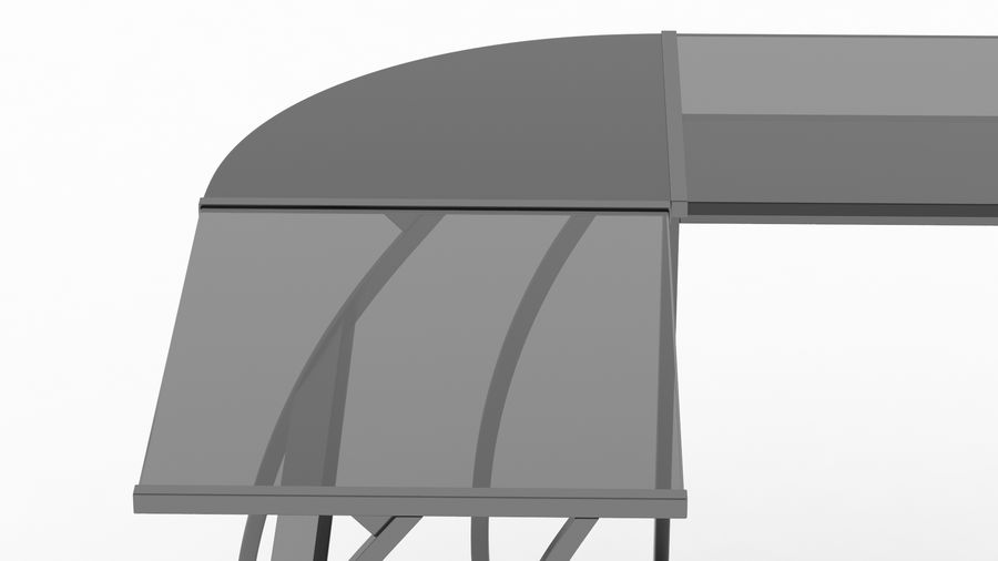 Bureau de jeu royalty-free 3d model - Preview no. 20