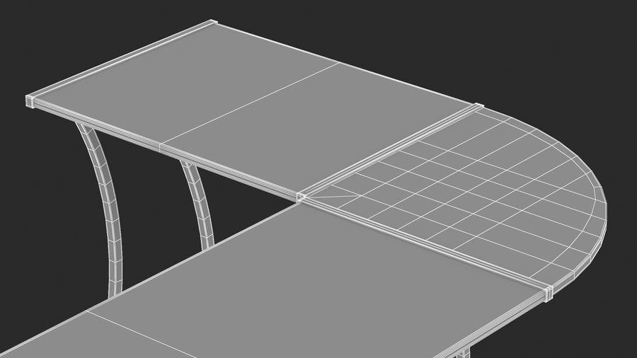 Bureau de jeu royalty-free 3d model - Preview no. 36